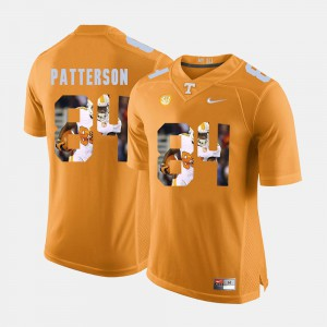 Mens Pictorial Fashion #84 UT Volunteer Cordarrelle Patterson college Jersey - Orange