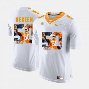 Men Pictorial Fashion #50 Tennessee Vols Corey Vereen college Jersey - White