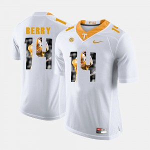 Men UT VOL Pictorial Fashion #14 Eric Berry college Jersey - White