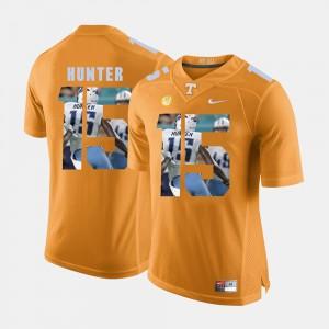 Men's Pictorial Fashion UT Volunteer #15 Justin Hunter college Jersey - Orange