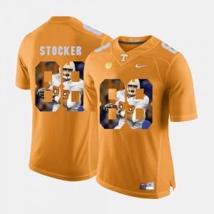 Men Pictorial Fashion #88 UT VOLS Luke Stocker college Jersey - Orange