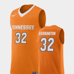 Men's #32 University Of Tennessee Replica Basketball Chris Darrington college Jersey - Orange
