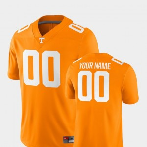 Men #00 Football Tennessee Vols 2018 Game college Custom Jerseys - Tennessee Orange