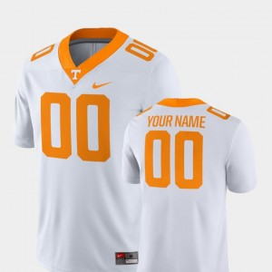 Men 2018 Game Football University Of Tennessee #00 college Customized Jerseys - White