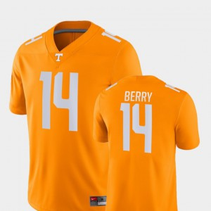 Mens Tennessee Game #14 Football Eric Berry college Jersey - Orange