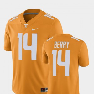 Men Alumni Football Game Vols #14 Player Eric Berry college Jersey - Tennessee Orange