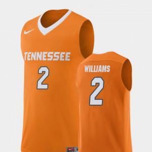 Men's Basketball Replica UT VOLS #2 Grant Williams college Jersey - Orange