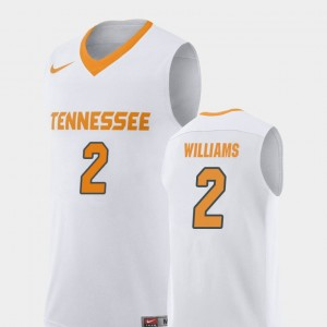 Men's #2 Replica Vols Basketball Grant Williams college Jersey - White