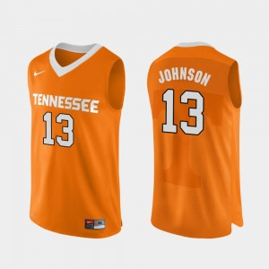 Mens Authentic Performace UT VOL Basketball #13 Jalen Johnson college Jersey - Orange