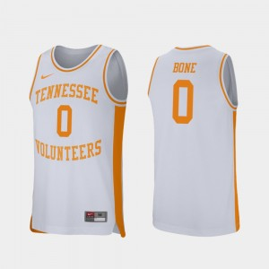 Men Basketball Retro Performance Tennessee Volunteers #0 Jordan Bone college Jersey - White