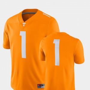 Men's 2018 Game #1 VOL Football college Jersey - Tenn Orange