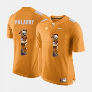 Men Pictorial Fashion Vols #1 Michael Palardy college Jersey - Orange