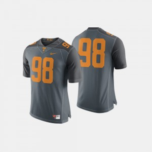 Men's VOL #98 Football college Jersey - Gray