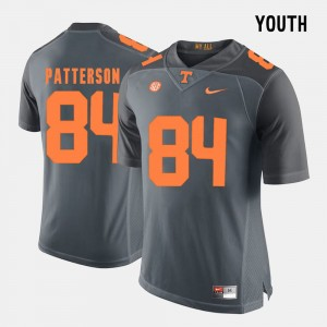 Kids Football #84 VOL Cordarrelle Patterson college Jersey - Grey