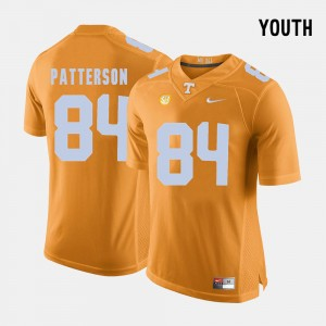 Youth(Kids) Tennessee Volunteers Football #84 Cordarrelle Patterson college Jersey - Orange