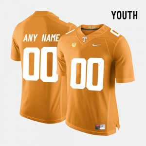 Youth #00 UT VOL Limited Football college Customized Jerseys - Orange