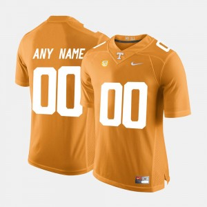 Men's #00 UT VOL Limited Football college Customized Jersey - Orange
