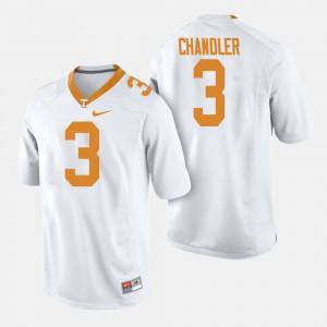 Men's Football UT VOL #3 Ty Chandler college Jersey - White