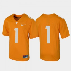 Youth #1 college Jersey - Tennessee Orange Untouchable Football UT Volunteer